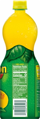 ReaLemon 100% Lemon Juice Perspective: right