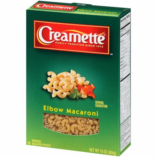 Creamette Elbow Macaroni Perspective: right