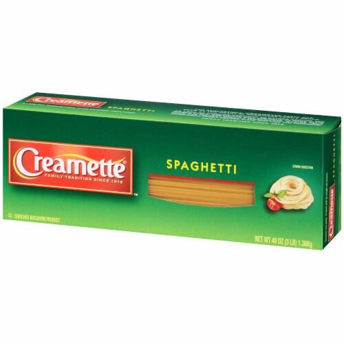 Creamette Spaghetti Perspective: right