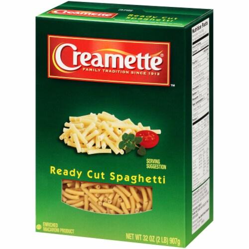Creamette Ready Cut Spaghetti Perspective: right