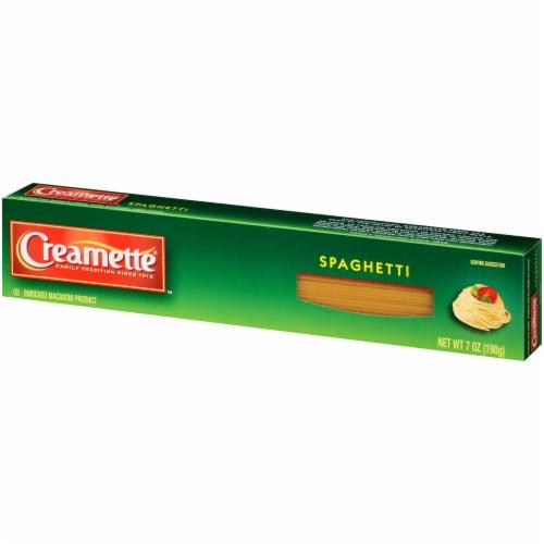 Creamette Spaghetti Pasta Perspective: right