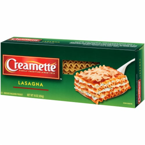 Creamette Lasagna Pasta Perspective: right