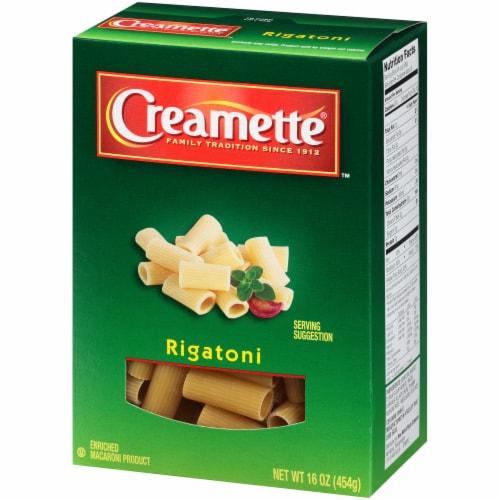 Creamette Rigatoni Pasta Perspective: right