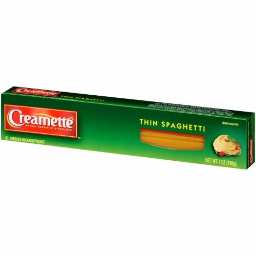 Creamette Thin Spaghetti Perspective: right