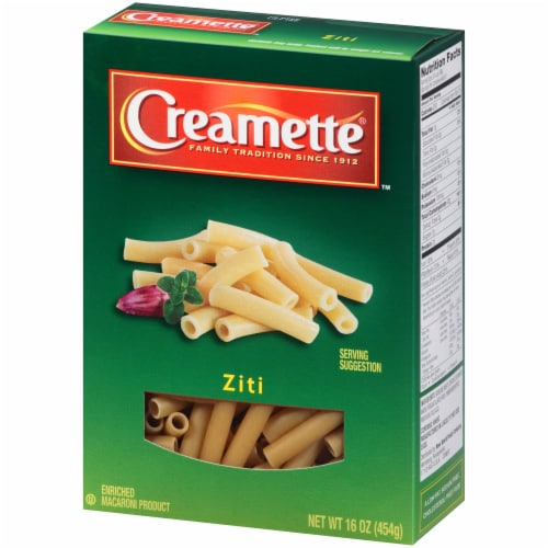 Creamette Ziti Pasta Perspective: right