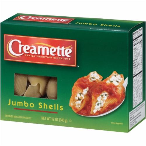 Creamette Jumbo Shells Pasta Perspective: right