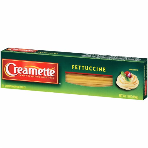 Creamette Fettuccine Pasta Perspective: right