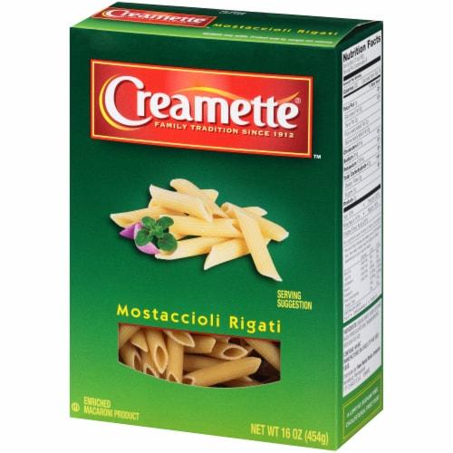 Creamette Mostaccioli Rigati Pasta Perspective: right