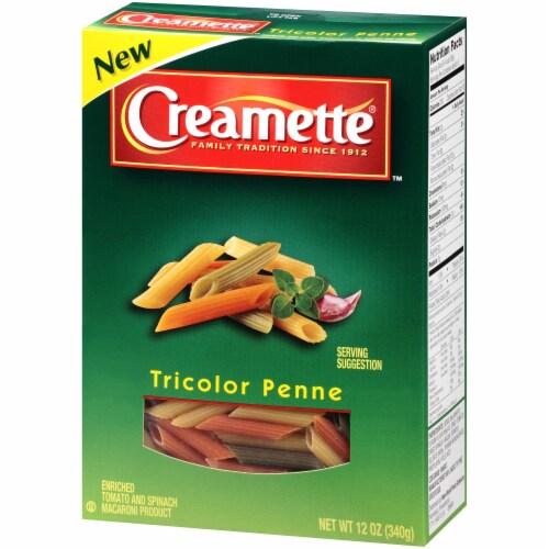 Creamette Tricolor Penne Pasta Perspective: right