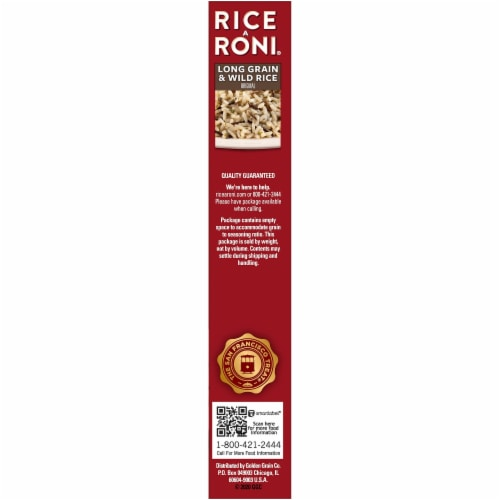 Rice-A-Roni Long Grain & Wild Rice Mix Perspective: right