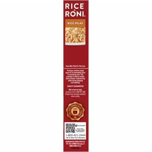 Rice-A-Roni Rice Pilaf Perspective: right