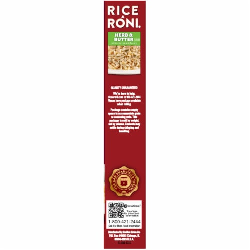 Rice-A-Roni Herb & Butter Rice Mix Perspective: right