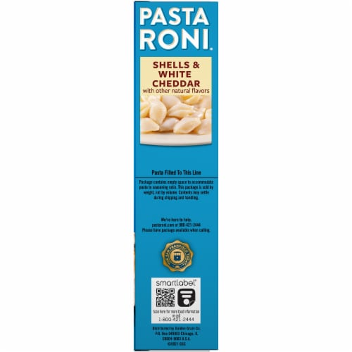 Pasta Roni Shells & White Cheddar Pasta Mix Perspective: right