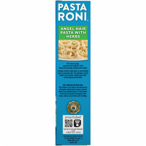 Pasta Roni Angel Hair Pasta with Herbs Pasta Mix Perspective: right