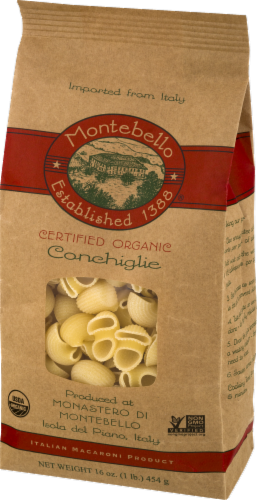 Montebello Organic Conchiglie Perspective: right