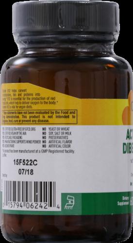 Country Life Active B-12 Dibencozide with Folic Acid Lozenges 3000 mcg Perspective: right