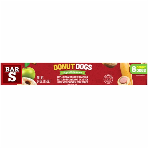Bar-S Apple Cinnamon Donut Dogs 8 Count Perspective: right