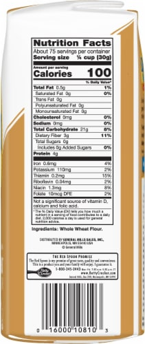 Gold Medal Whole Wheat Flour Perspective: right