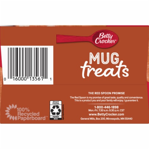 Betty Crocker Mug Treats Cinnamon Roll Mix Perspective: right