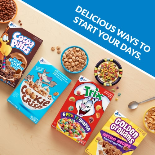 Cocoa Puffs Cereal Giant Size Perspective: right