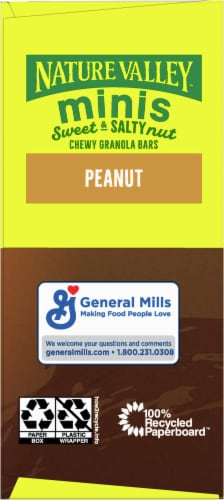 Nature Valley Sweet & Salty Peanut and Almond Butter Mini Granola Bars Perspective: right
