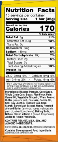 Nature Valley Sweet & Salty Nut Peanut Granola Bars Family Pack Perspective: right