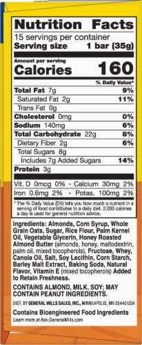 Nature Valley Sweet & Salty Nut Almond Chewy Granola Bars Family Pack Perspective: right