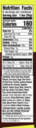 Nature Valley Sweet & Salty Nut Roasted Mixed Nut Chewy Granola Bars Perspective: right