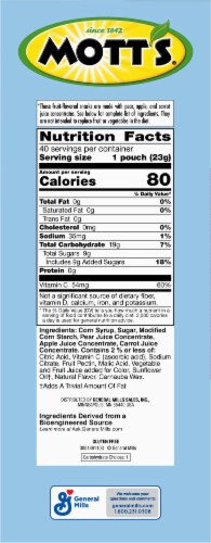 Mott's Berry Flavored Fruit Snacks Family Pack Perspective: right