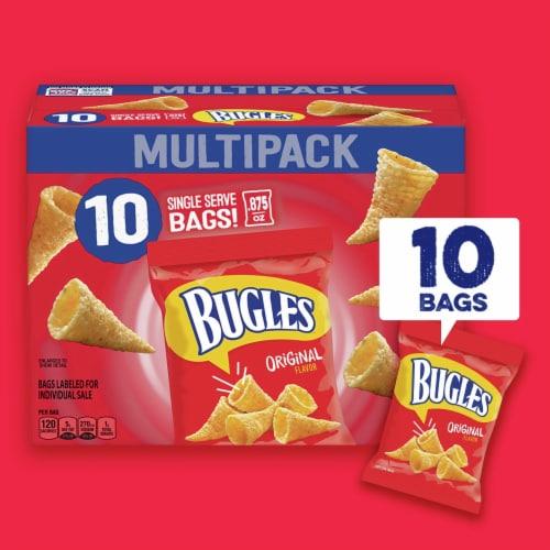 Bugles Crispy Corn Snacks Multipack Perspective: right