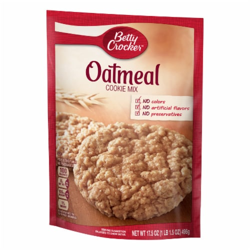 Betty Crocker Oatmeal Cookie Mix Perspective: right