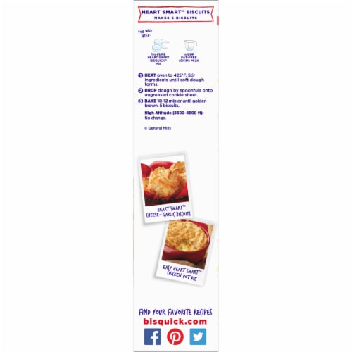 Bisquick Heart Smart Pancake & Baking Mix Perspective: right
