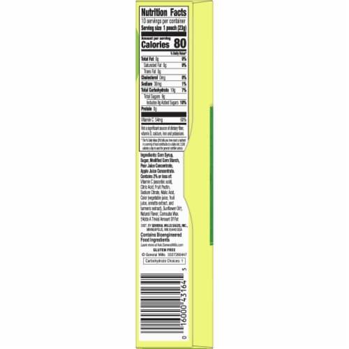 Mott's Original Assorted Fruit Snacks 10 Count Perspective: right