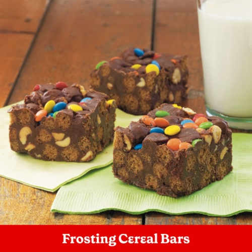 Betty Crocker Rich & Creamy Milk Chocolate Frosting Perspective: right