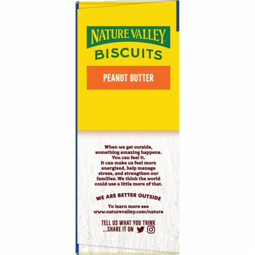 Nature Valley Honey Biscuits with Peanut Butter Filling Perspective: right