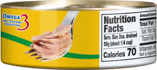 Dolores Yellowfin Tuna In Vegetable Oil Perspective: right