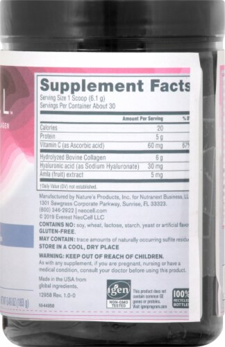 NeoCell Derma Matrix Collagen Skin Complex Dietary Supplement Perspective: right