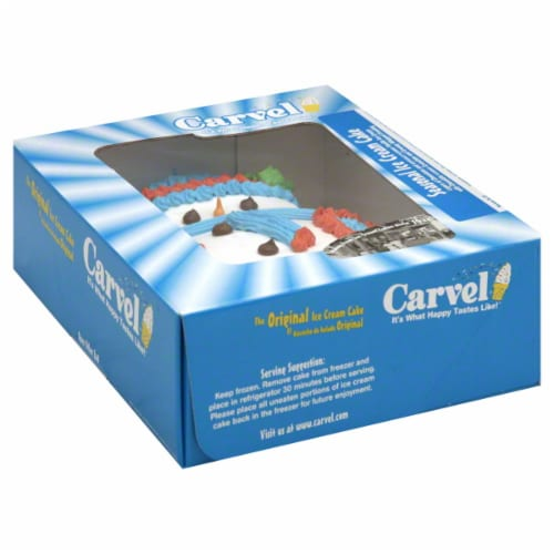 Carvel Holiday Ice Cream Cake Perspective: right