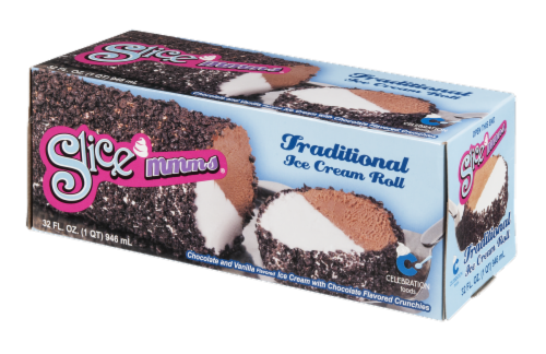 Carvel Slice Mmms Ice Cream Roll Perspective: right