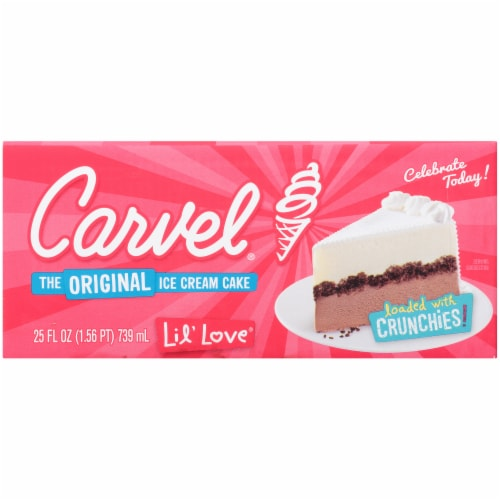 Carvel Lil' Love Ice Cream Cake Perspective: right