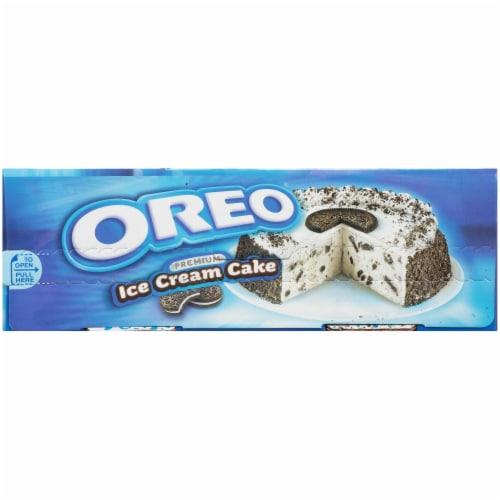 Oreo Premium Ice Cream Cake Perspective: right