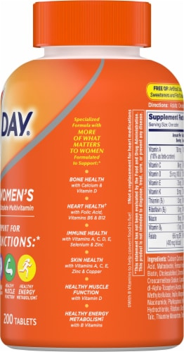 One A Day Women's Formula Multivitamin Tablets Perspective: right
