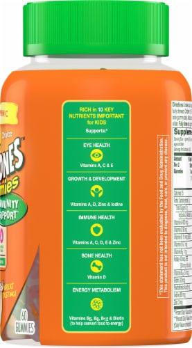 Flintstones™ with Immunity Support Kids Multivitamin Gummies Perspective: right