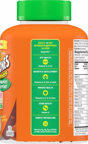 Flintstones Gummies Kids Vitamins with Immunity Support and Vitamin C D B12 Zinc & more Perspective: right