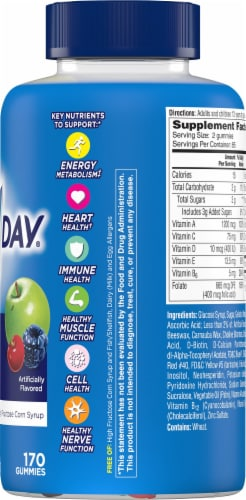 One A Day® Men's VitaCraves Multivitamin Gummies Perspective: right