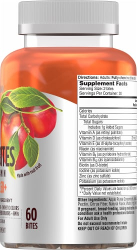 One A Day  Multivitamins Womens 50+ Fruit Bites Perspective: right