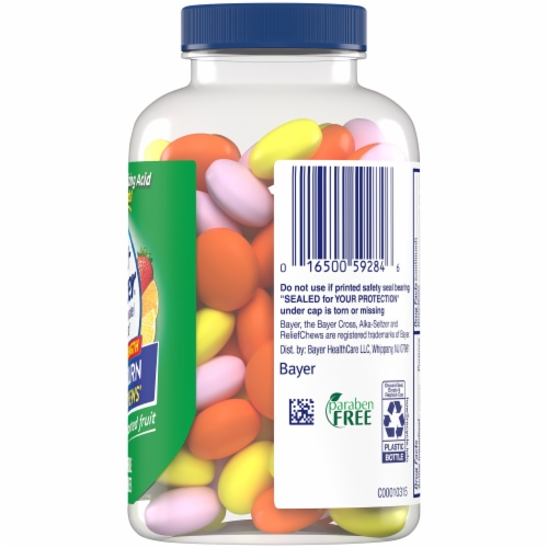 Alka-Seltzer Extra Strength Heartburn Relief Assorted Fruit Chews Perspective: right