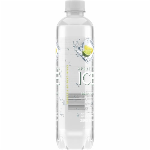Sparkling Ice Lemon Lime Sparkling Water Perspective: right