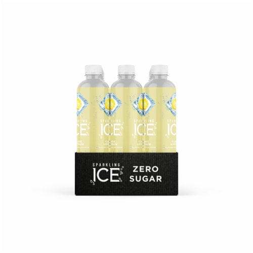 Sparkling Ice Classic Lemonade Sparkling Water Perspective: right
