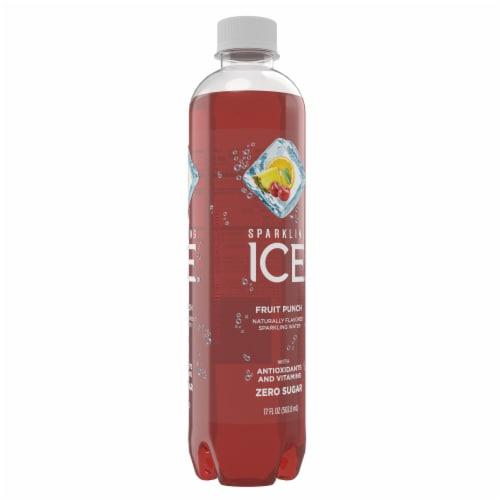 Sparkling Ice Fruit Punch Sparkling Water Perspective: right